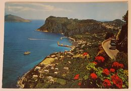 ANACAPRI (Capri) - Meraviglioso Panorama Di Marina Grande - Bus VG - Italia