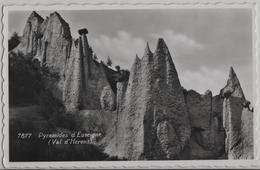 Pyramides D'Euseigne (Val D'Herens) - Photo: Perrochet - VS Valais