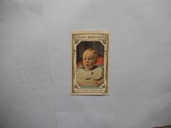PRINCE ALPHONSE HERITIER D'ESPAGNE NE EN 1907 CHROMO N° 513 DU 2e LIVRE D'OR DES CELEBRITES CHOCOLAT GUERIN-BOUTRON - Guérin-Boutron