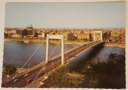 BUDAPEST (Magyar) - LATKEP AZ ERZSEBET-HIDDAL - View With Elizabeth Bridge - Ungheria