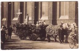 CLAIRMARAIS  - Carte Photo De La  Procession Du 20 Mars 1927 Avec Le Char De Ste -Thérèse - Autres Communes