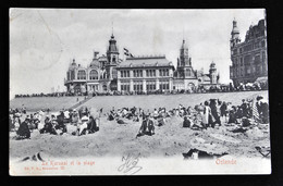Ostende - Le Kursaal Et La Plage - Oostende