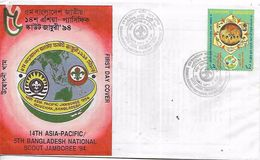 BANGLADESH  DHAKA  14 Th Asia Pacific  6 Th Bangladesh National Scout  5/01/94jamboree  5/01/94 - Covers & Documents