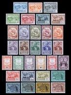 PORTUGAL, AF 299/329, Yv 299/329, */** MLH/MNH, F/VF, Cat. € 100,00 - 1910-... République
