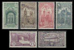 PORTUGAL, AF 531/36, Yv 547/52, * MLH, F/VF, Cat. € 185,00 - 1910-... République