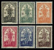 PORTUGAL, AF 537/42, V 553/58, * MLH, F/VF, Cat. € 330,00 - 1910-... République