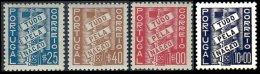 PORTUGAL, AF 570/73: Yv 581/83, 626, (*)/* MNG/MLH, F/VF, Cat. € 60,00 - 1910-... Republik