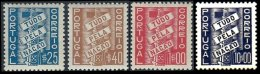 PORTUGAL, AF 570/73: Yv 581/83, 626, (*)/* MNG/MLH, F/VF, Cat. € 60,00 - 1910-... Republic