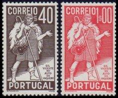 PORTUGAL, AF 577/78, Yv 586/87, * MLH, F/VF, Cat. € 38,50 - 1910-... République