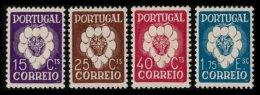 PORTUGAL, AF 579/82, Yv 588/91, * MLH, F/VF, Cat. € 78,00 - 1910-... République