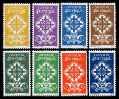 PORTUGAL, AF 583/90, Yv 592/99, (*)/* MNG/MLH, F/VF, Cat. € 228,00 - 1910-... République