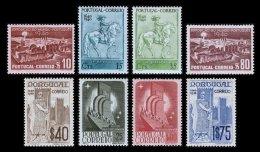 PORTUGAL, AF 591/98, Yv 608/15, * MLH, F/VF, Cat. € 55,00 - 1910-... République