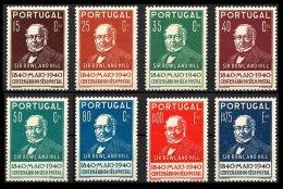 PORTUGAL, AF 599/600, Yv 600/07, * MLH, F/VF, Cat. € 90,00 - 1910-... République