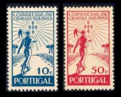 PORTUGAL, AF 634/35, Yv 645/46, * MLH, F/VF, Cat. € 4,00 - 1910-... République
