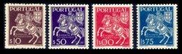 PORTUGAL, AF 636/39, Yv 647/50, * MLH, F/VF, Cat. € 14,00 - 1910-... République