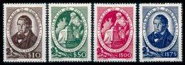 PORTUGAL, AF 640/43, Yv 651/54, * MLH, F/VF, Cat. € 29,00 - 1910-... République