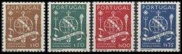 PORTUGAL, AF 660/63, Yv 671/74, * MLH, F/VF, Cat. € 13,00 - 1910-... République