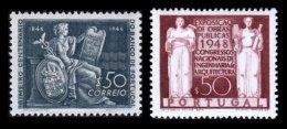 PORTUGAL, AF 672, 695: Yv 683, 706, * MLH, F/VF - 1910-... République