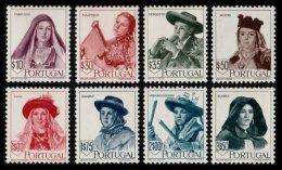 PORTUGAL, AF 677/84, Yv 688/95, * MLH, F/VF, Cat. € 185,00 - 1910-... République