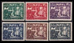 PORTUGAL, AF 685/90, Yv 696/701, ** MNH, F/VF, Cat. € 77,00 - 1910-... République