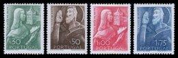 PORTUGAL, AF 691/94, Yv 702/05, * MLH, F/VF, Cat. € 30,00 - 1910-... République