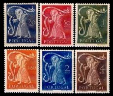 PORTUGAL, AF 723/28, Yv 734/39, * MLH, F/VF, Cat. € 110,00 - 1910-... République