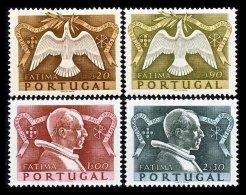 PORTUGAL, AF 733/36, Yv 744/47, * MLH, F/VF, Cat. € 39,00 - 1910-... République
