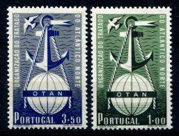 PORTUGAL, AF 749/50, Yv 760/61, * MLH, F/VF, Cat. € 361,00 - 1910-... République