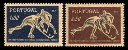 PORTUGAL, AF 751/52, Yv 762/63, (*) MNG, F/VF, Cat. € 13,00 - 1910-... République