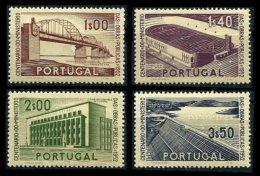 PORTUGAL, AF 755/58, Yv 766/69, * MLH, F/VF, Cat. € 44,00 - 1910-... République