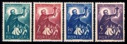 PORTUGAL, AF 759/62, Yv 770/73, * MLH, F/VF, Cat. € 92,00 - 1910-... République