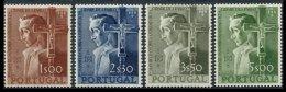 PORTUGAL, AF 802/05, Yv 813/16, * MLH, F/VF, Cat. € 153,00 - 1910-... République