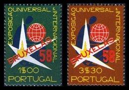 PORTUGAL, AF 833/34, Yv 843/44, * MLH, F/VF, Cat. € 4,00 - Neufs