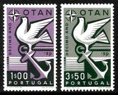 PORTUGAL, AF 849/50, Yv 859/60, * MLH, F/VF, Cat. € 7,00 - 1910-... République