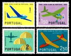 PORTUGAL, AF 854/57, Yv 864/67, * MLH, F/VF, Cat. € 10,00 - 1910-... République