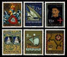 PORTUGAL, AF 863/68, Yv 873/78, * MLH, F/VF, Cat. € 66,00 - 1910-... République