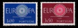 PORTUGAL, AF 869/70, Yv 879/80, (*) MNG, F/VF, Cat. € 8,00 - 1910-... République
