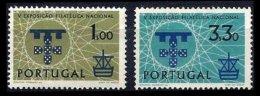 PORTUGAL, AF 871/72, Yv 881/82, * MLH, F/VF, Cat. € 12,00 - 1910-... République