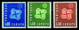 PORTUGAL, AF 878/80, Yv 888/90, * MLH, F/VF, Cat. € 7,00 - 1910-... République