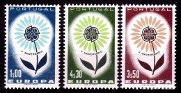 PORTUGAL, AF 934/36, Yv 944/46, */** MLH/MNH, F/VF, Cat. € 24,00 - 1910-... République