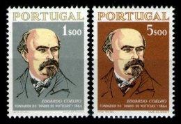 PORTUGAL, AF 943/44, Yv 953/54, ** MNH, F/VF, Cat. € 16,00 - 1910-... République