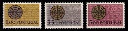 PORTUGAL, AF 971/73, Yv 981/83, ** MNH, F/VF, Cat. € 22,00 - 1910-... République