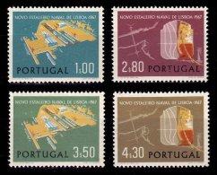 PORTUGAL, AF 1007/10, Yv 1017/20, * MLH, F/VF, Cat. € 14,50 - 1910-... République