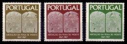 PORTUGAL, AF 1017/19, Yv 1027/29, * MLH, F/VF, Cat. € 8,00 - 1910-... République