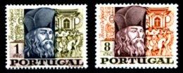PORTUGAL, AF 1020/21, Yv 1030/31, * MLH, F/VF, Cat. € 4,50 - 1910-... République