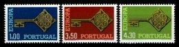 PORTUGAL, AF 1022/24, Yv 1032834, * MLH, F/VF, Cat. € 60,00 - 1910-... République
