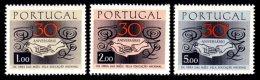 PORTUGAL, AF 1025/27, Yv 1035/37, * MLH, F/VF, Cat. € 10,50 - 1910-... République