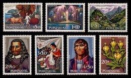 PORTUGAL, AF 1031/37, Yv 1041/47, * MLH, F/VF, Cat. € 36,00 - 1910-... République