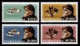 PORTUGAL, AF 1055/58, Yv 1065/68, * MLH, F/VF, Cat. € 14,50 - 1910-... République