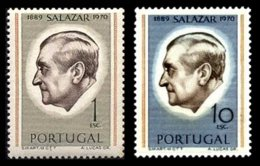 PORTUGAL, AF 1106a, 1108a: Yv 1116a, 1118a, ** MNH, F/VF, Cat. € 225,00 - Neufs